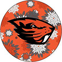 Oregon State Beavers NCAA Collegiate Trendy Floral Flower Fashion Pattern 4