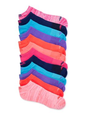 Avia Women's Performance No-Show Socks, 12 Pack