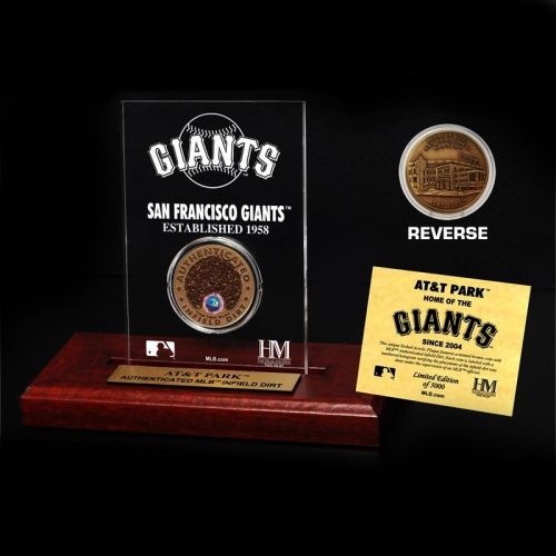 San Francisco Giants Infield Dirt Coin Etched Acrylic - No Size