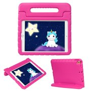 HDE iPad 7th Generation Case for Kids – iPad 10.2 inch 2019 Case for Kids Shock Proof Protective Light Weight Cover with Handle Stand for 2019 Apple iPad 10.2 - Hot Pink