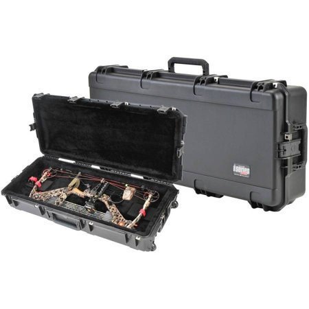 SKB Corporation Injection Molded Parallel Limb Bow Case, Black