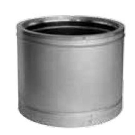"""DuraVent 8DT-12 8"""" Inner Diameter - DuraTech Class A Chimney Pipe - Double Wall - 12"""" Pipe Length"""