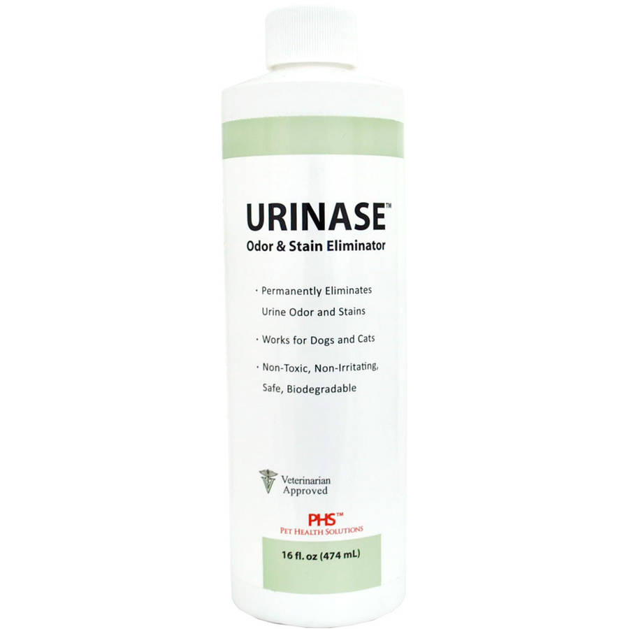 Pet Health Solutions Urinase Enzymatic Odor And Spot Remover, 16 Oz Bottle