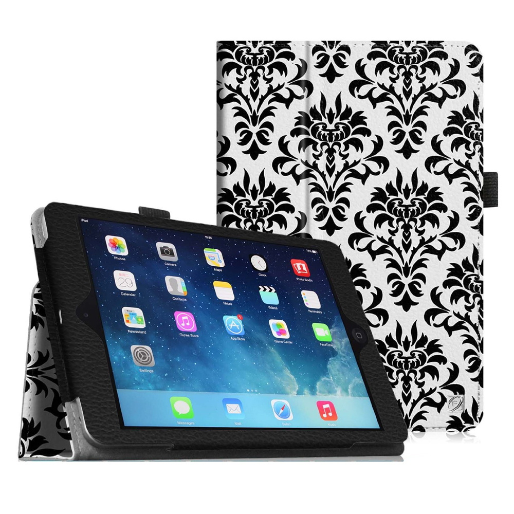 iPad mini 3 / iPad mini 2 / iPad mini Case - Fintie Folio Cover Slim Fit PU leather with Auto Sleep/Wake, Versailles
