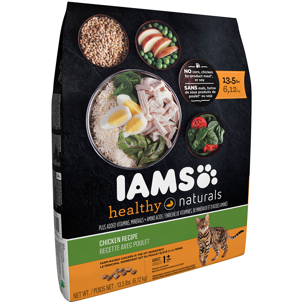 Iams healthy naturals chicken recipe dry cat food 135 pounds iams healthy naturals chicken recipe dry cat food 135 pounds walmart forumfinder Image collections