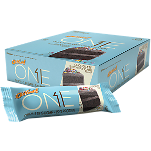 ONE Brands 12 Bars CHOCOLATE BIRTHDAY CAKE