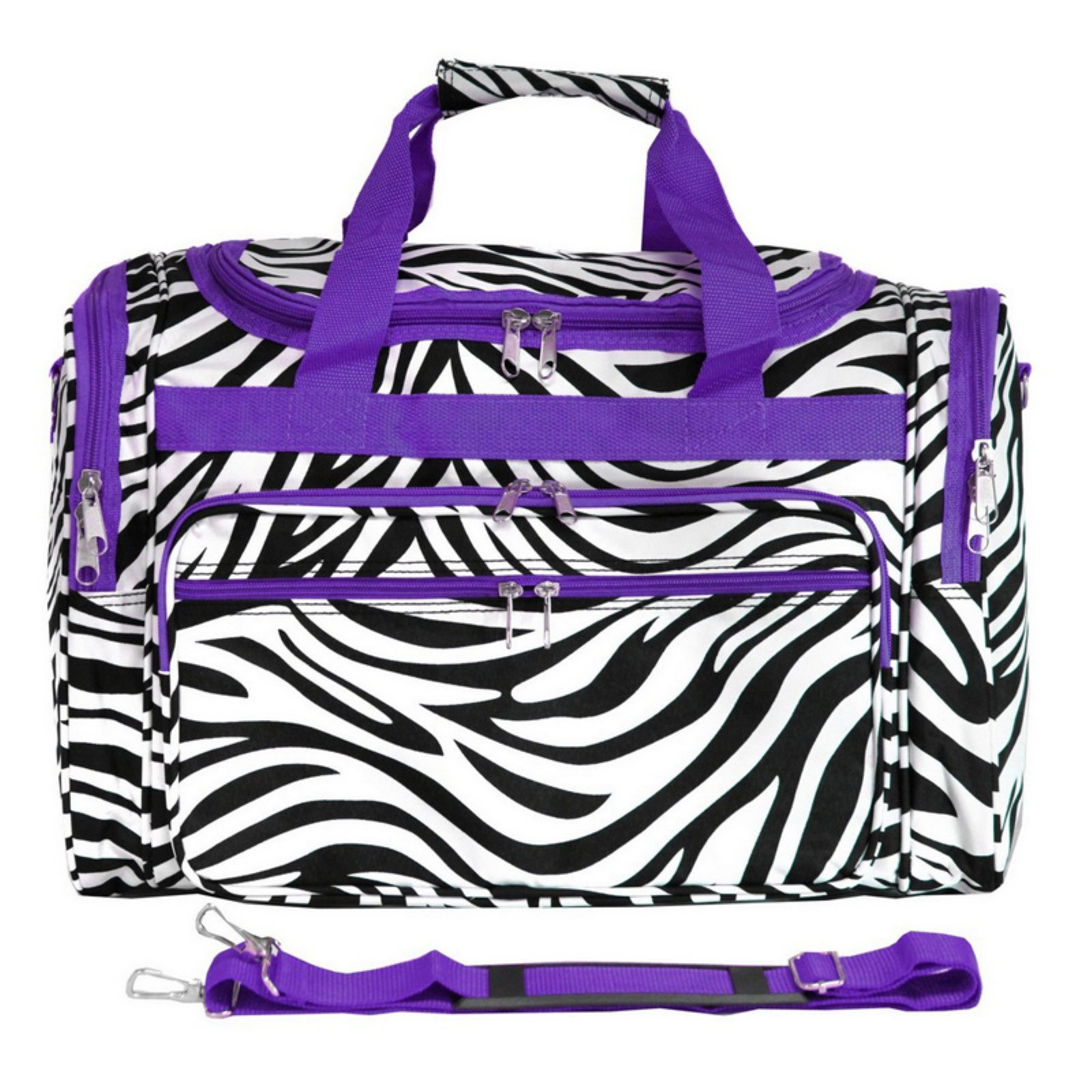 World Traveler Zebra 19 in. Shoulder Duffel Bag