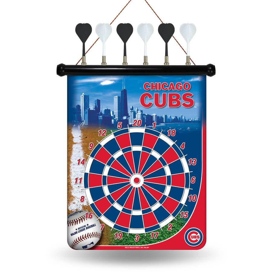 Rico MLB Magnetic Dart Set, Chicago Cubs