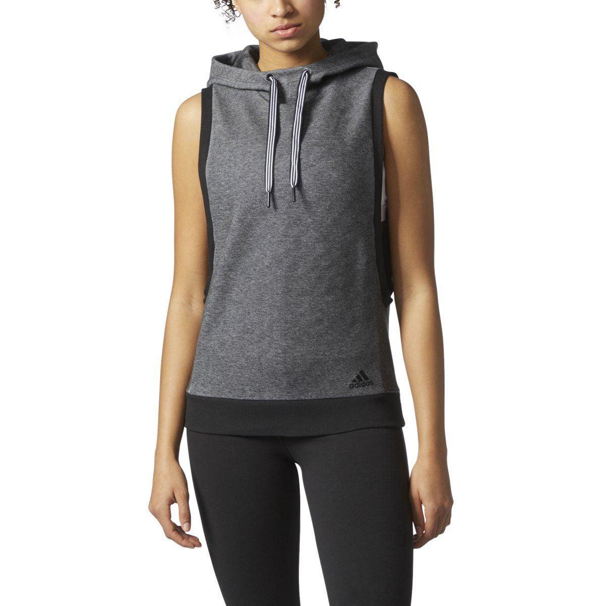 e58a7fe47 adidas - adidas Women's Athletics Sport Id Sleeveless Hoodie | CF0480 -  Walmart.com