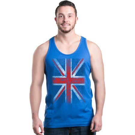 Shop4Ever Men's Union Jack British Flag UK Graphic Tank Top (Sonnenbrille Rabatten Uk)