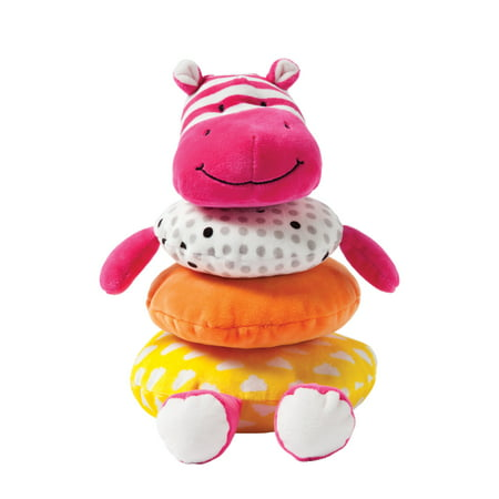 Manhattan Toy Soft Stacker Baby Toy, Pink -