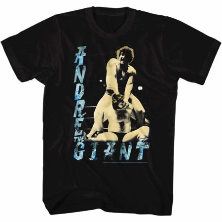 Andre The Giant Icons 80'S Dre Adult Short Sleeve T Shirt