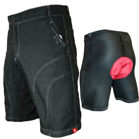 THE PUB CRAWLER - Men's Loose-Fit Bike Shorts for Commuter Cycling or Mountain Biking, with Secure Pockets and padded