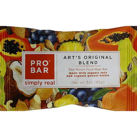 PROBAR Art's Original Blend Whole Food Meal Bar, 3 oz, (Pack of 12)