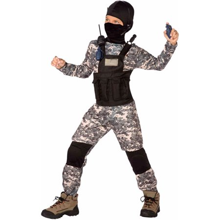Child Navy Seal Costume - Navy Blue Costume