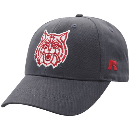 Men's Russell Charcoal Arizona Wildcats Endless Adjustable Hat - OSFA - Arizona Wildcats Baseball