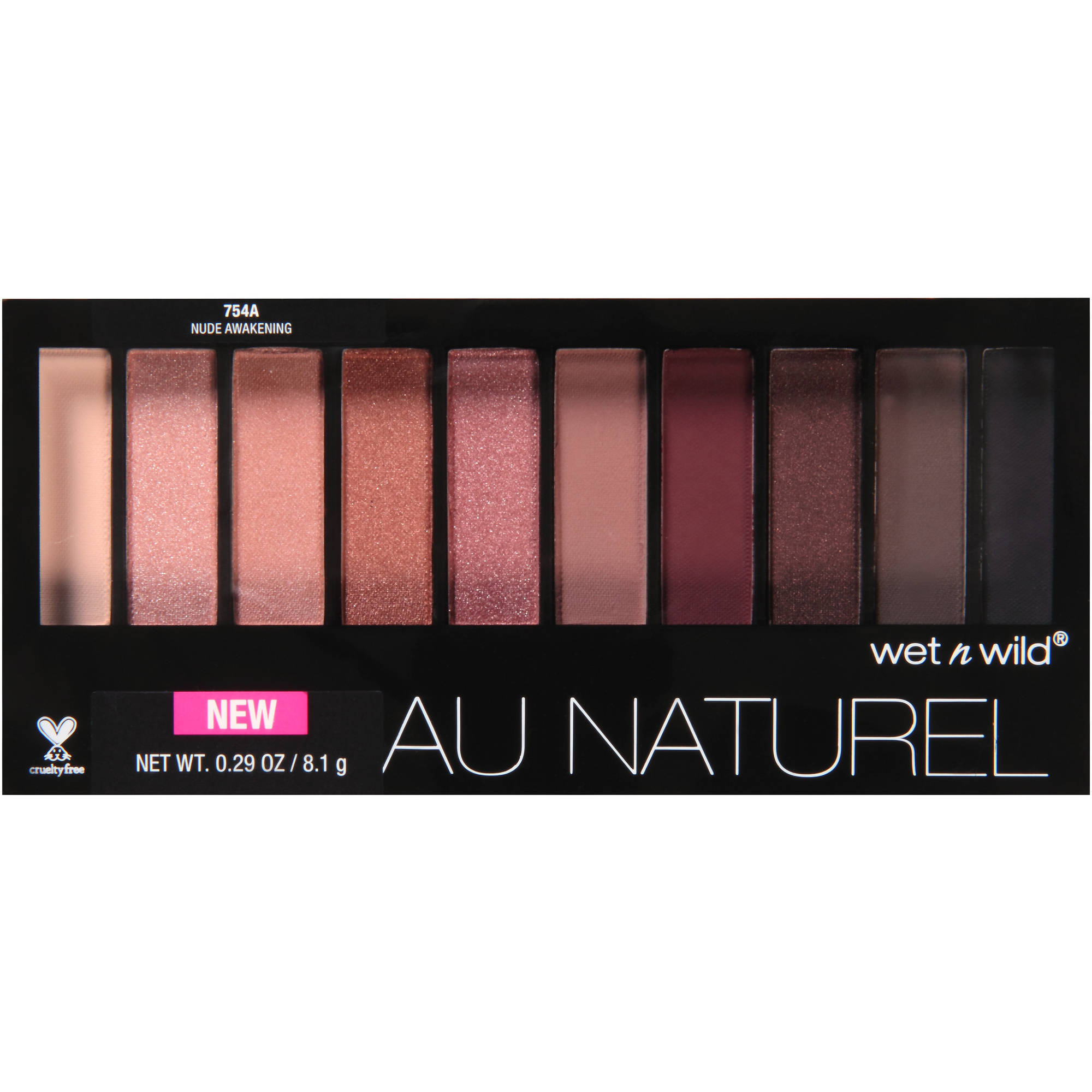 Wet n Wild Au Naturel Eye Shadow, 754A Nude Awakening, 0.29 oz
