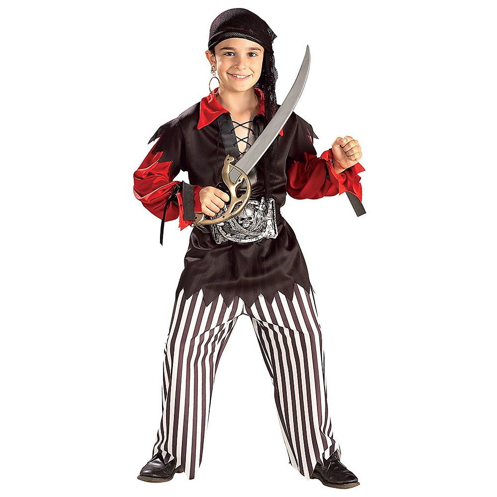 Rubies Boys' Pirate Cap'n Skull Costume by Rubies