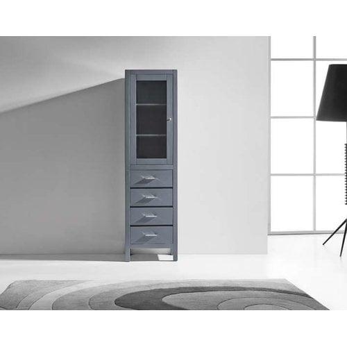 Virtu USA Wellmont 1 Door Accent Cabinet