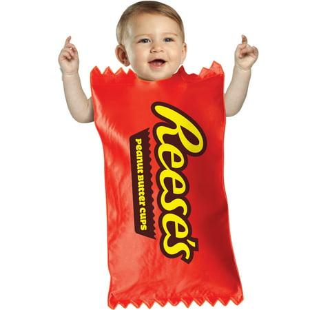 Bunting Halloween Costumes (Hersheys Reese's Cup Bunting Baby Halloween)
