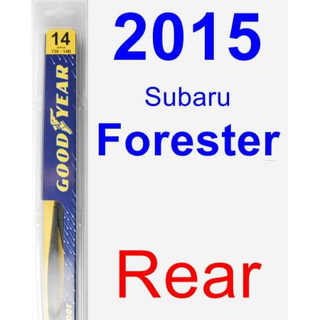 2015 Subaru Forester Rear Wiper Blade - Rear