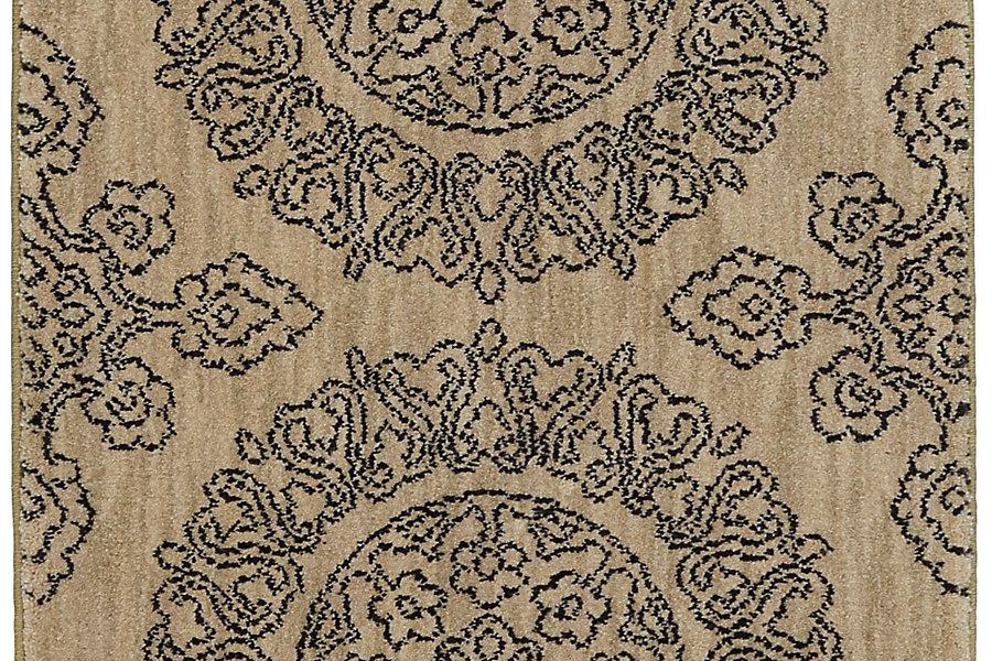 "Karastan Pacifica Leawood Tan (2' 4""x7' 10"") by Mohwak Home"