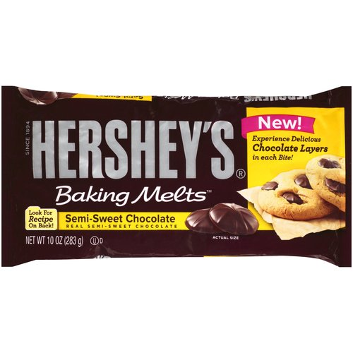 ***DISCONTINUED***Hershey's Baking Melts Semi-Sweet Chocolate, 10 oz