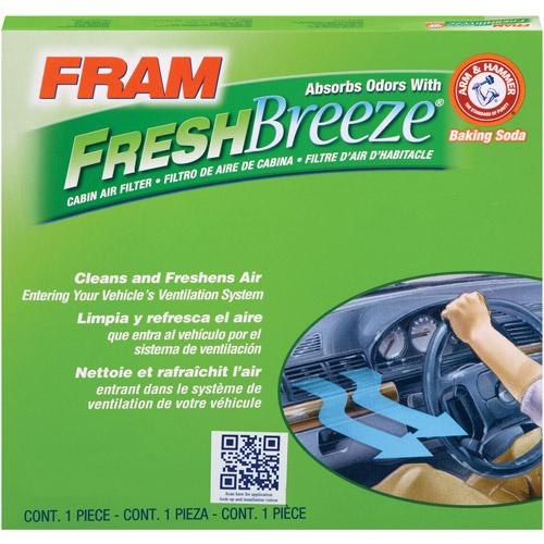 FRAM Fresh Breeze Cabin Air Filter, CF11819