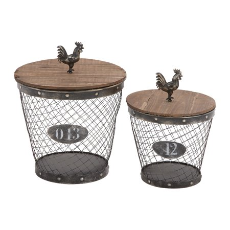 UMA Enterprises Decorative Basket - Set of 2