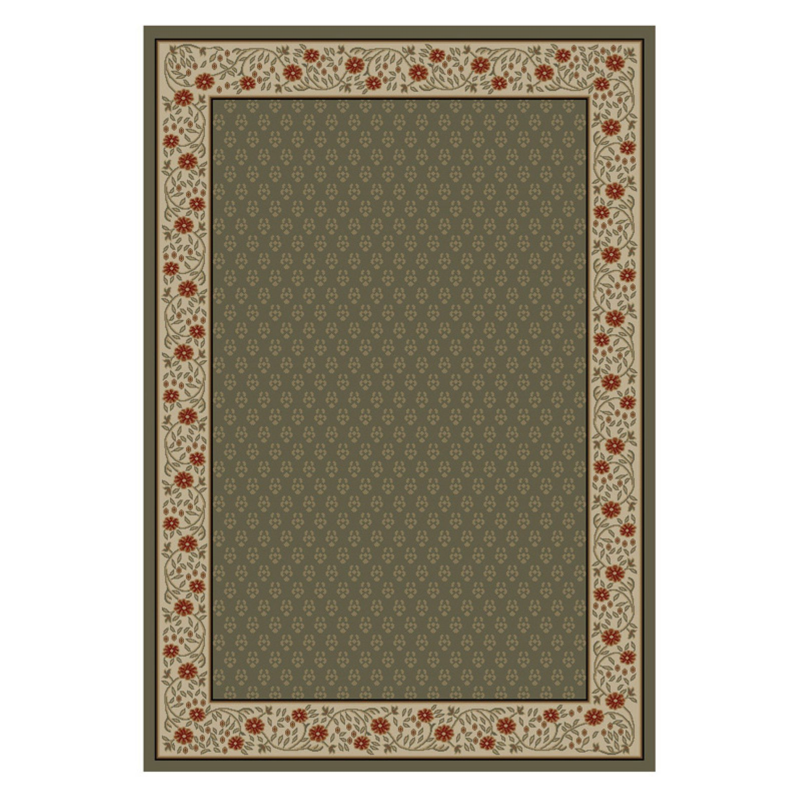 Well Woven Barclay Terrazzo Transitional Area/Round Rug