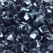 60 Piece Acrylic Nugget Pack (Set of 5) Color: Black