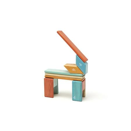 14 Piece Tegu Magnetic Wooden Block Set, Sunset - image 3 of 16