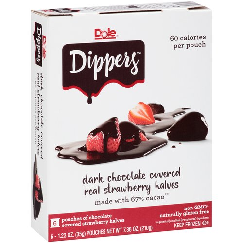 Dole Strawberry Dippers, 1.23 oz, 6 count