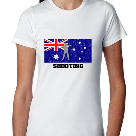 Australia Olympic - Rugby - Flag - Silhouette Women