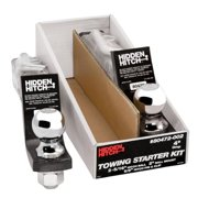 "Hidden Hitch Towing Starter Kit, w/Quick-Loading 2"" Sq. Ball Mount 80472-002"