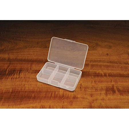 Midge Fly Box 6 Compartment - Fly Fishing or Fly Tying, By Hareline