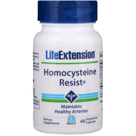 Life Extension  Homocysteine Resist  60 Vegetarian Capsules