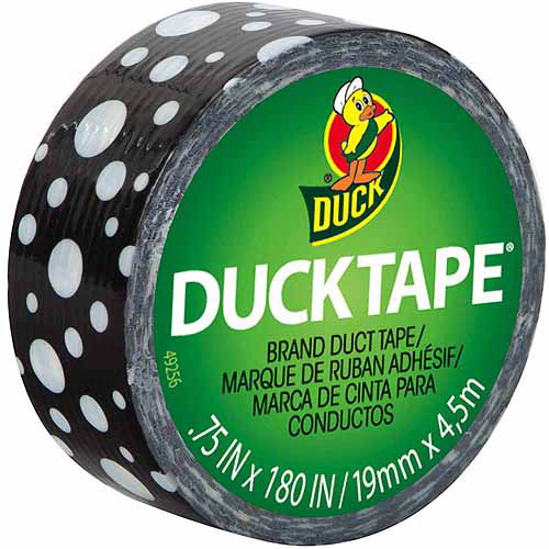 "The Dial 282664 Ducklings Ducktape, 9 Mil, 3/4"" X 180"", Mod Dots"