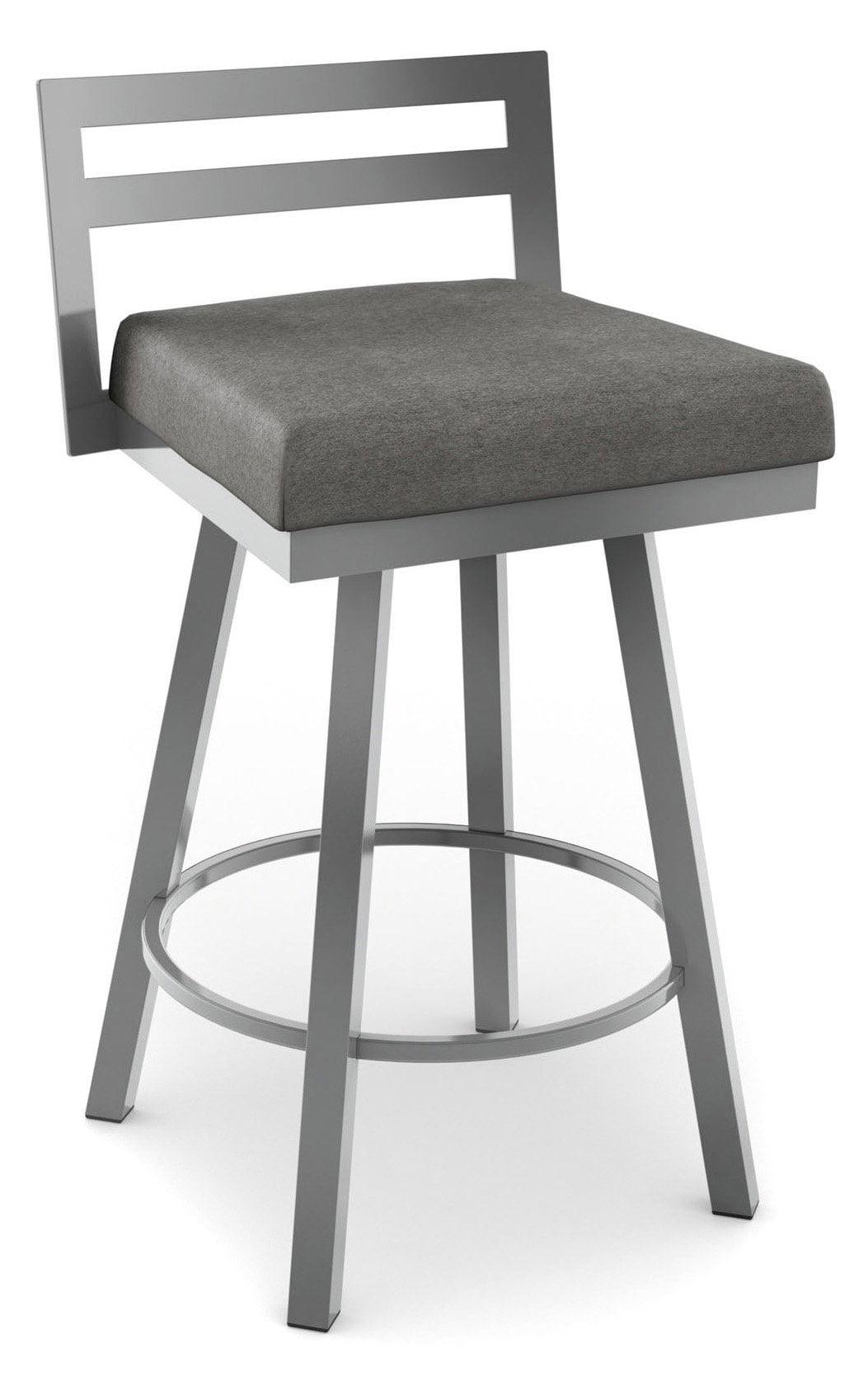 Fantastic Amisco Derek Swivel Counter Stool 26 In Bralicious Painted Fabric Chair Ideas Braliciousco