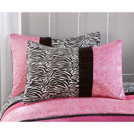 Your zone zebra bedding comforter set best teens 39 comforters for Decor zone bedroom