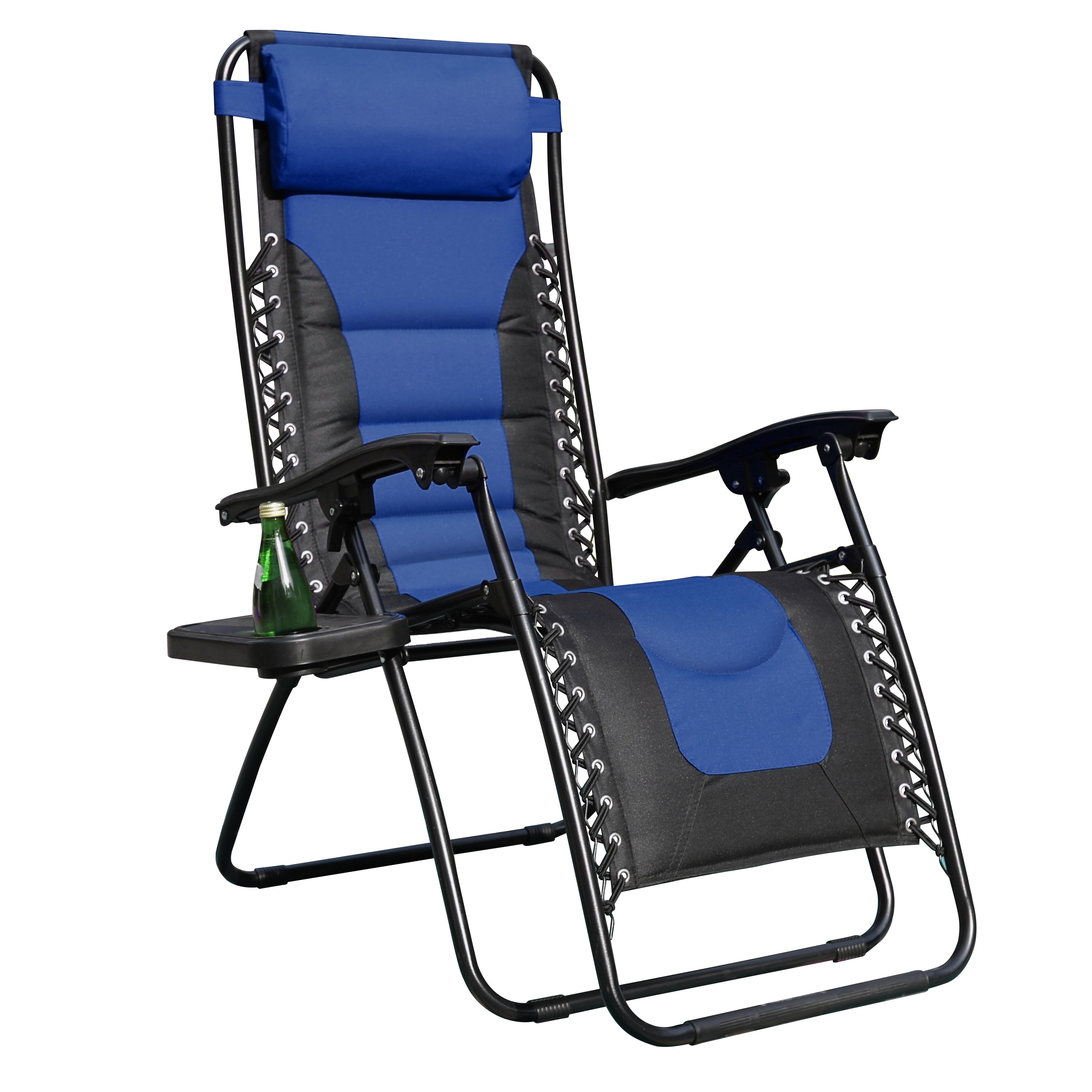 MF Studio Padded Zero Gravity Lounge Chair Foldable ...