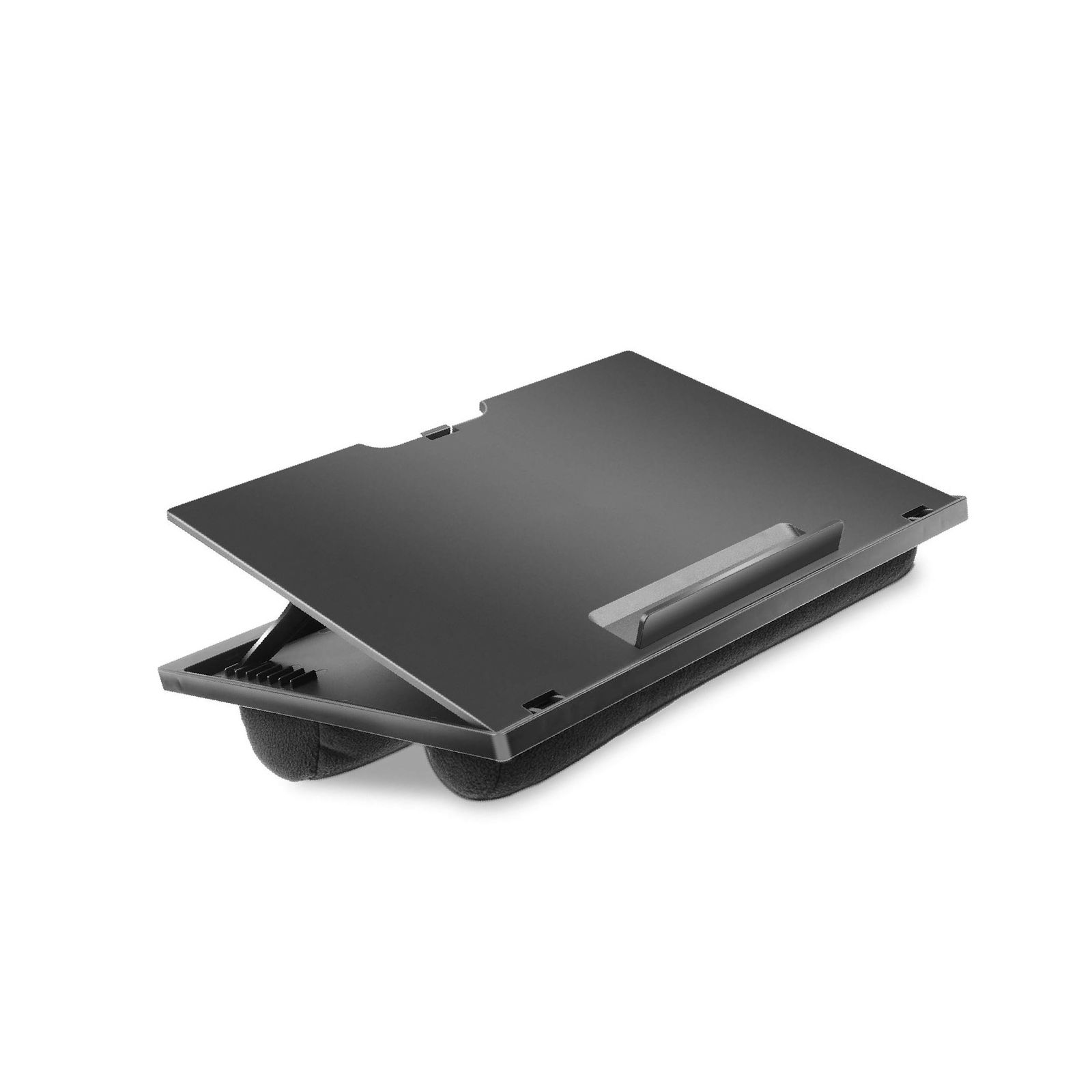 Adjustable Lap Desk with 8 Adjustable Angles & Dual Cushions Laptop Stand f... by huanuo