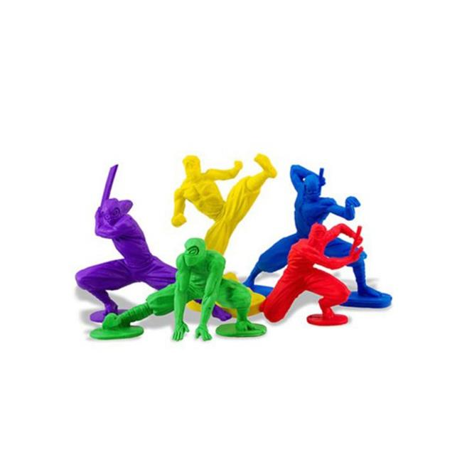 Ninja Erasers Set - Pack of 24 - image 1 of 1