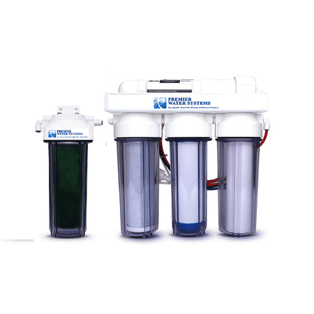 5 Stage Reverse Osmosis Deionization RO/DI Aquarium Reef Water Filtration System | 150 GPD- 0 ppm