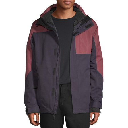 Iceberg Men's Peak 3-in-1 Systems Jacket (Peak Performance Rocker Jacket)