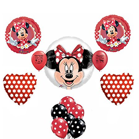 Minnie Mouse Party Supplies Birthday Party Balloon Kit