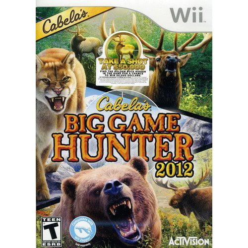 Cabela's Big Game Hunter 2012 (Wii)