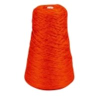 Trait-Tex 8 Oz. Acrylic 4-Ply Double-Weight Yarn Refill Cone - 315 Yd. Dispenser Box, Orange