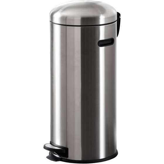 Better homes and gardens 30l retro trash can stainless - Better homes and gardens trash can ...