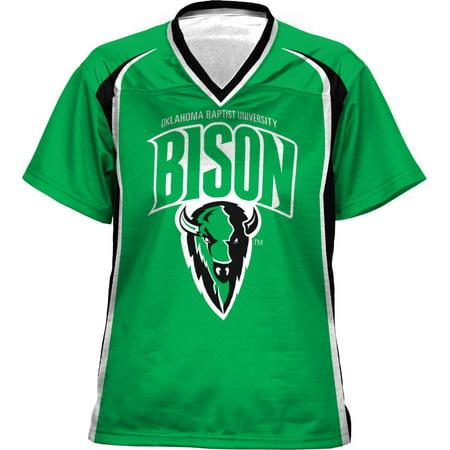 ProSphere Women's Oklahoma Baptist University Wild Horse Football Fan Jersey